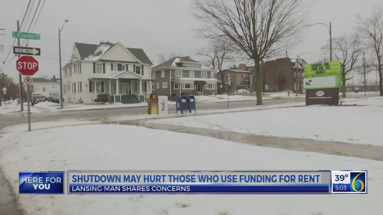 Shutdown may those who need rent funding