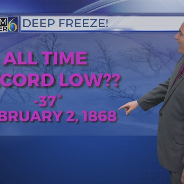 Weather Wednesday: What are record cold temperatures for this time of year?