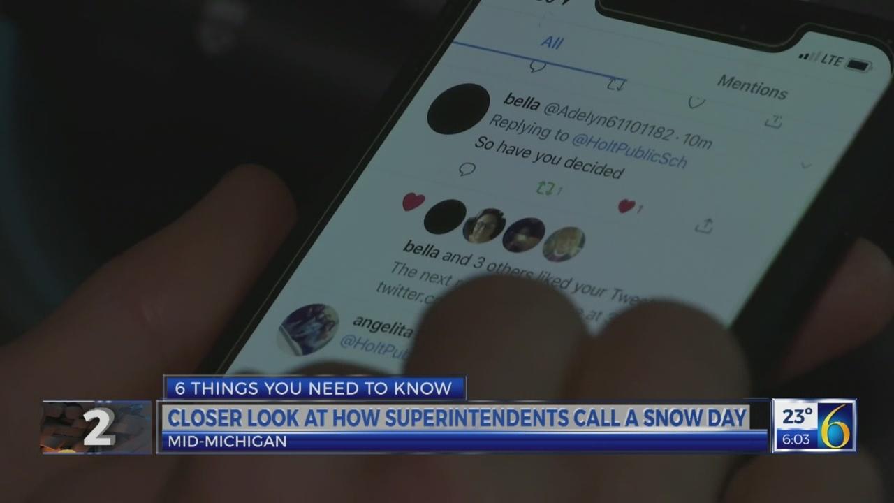 6 News This Morning: snow days