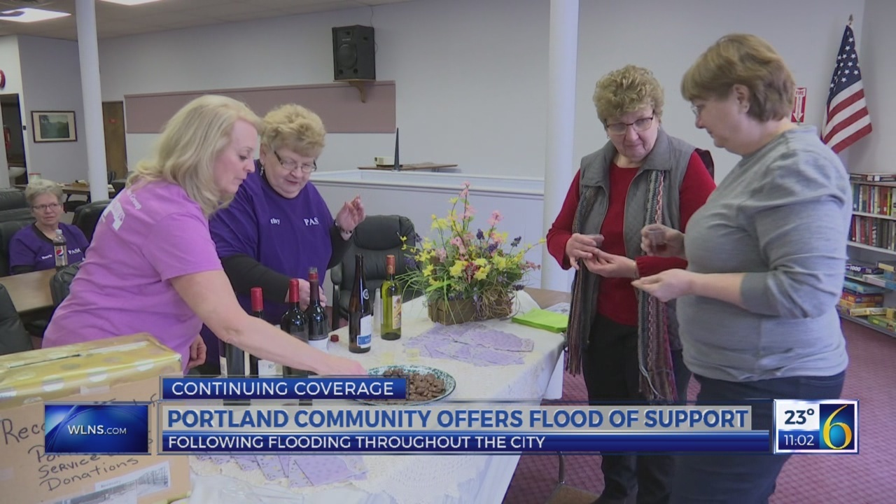 Portland community offers flood of support