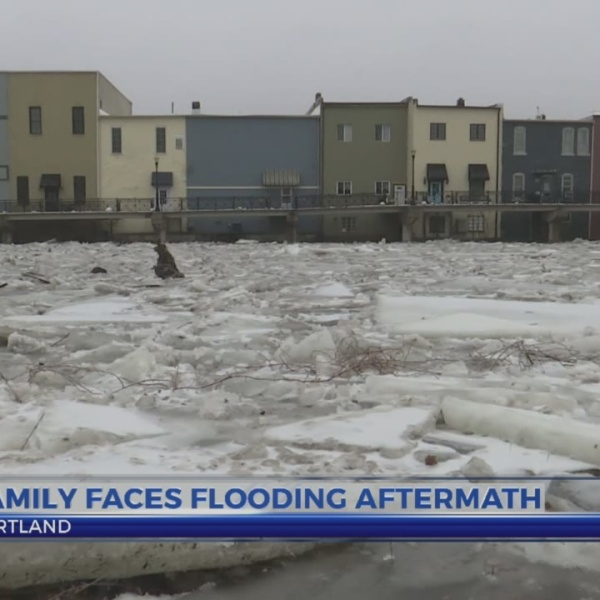 Portland family feels flooding effects