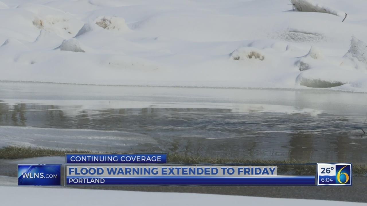 Portland update after flood  warning extension