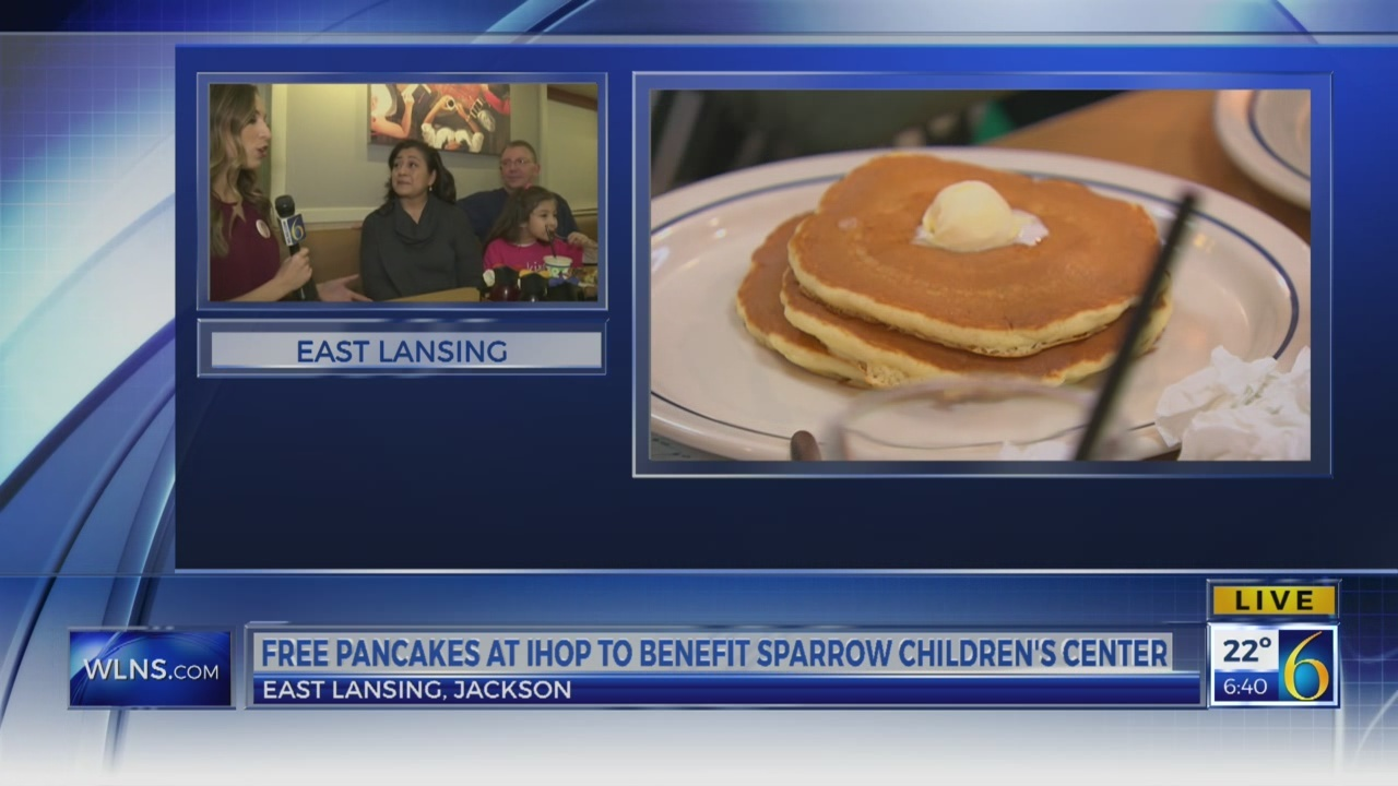 6 News This Morning: National Pancake Day benefits Sparrow Children's Center