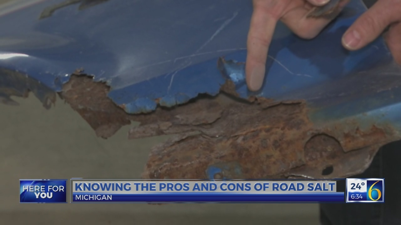 6 News This Morning: road salt v cars and environment