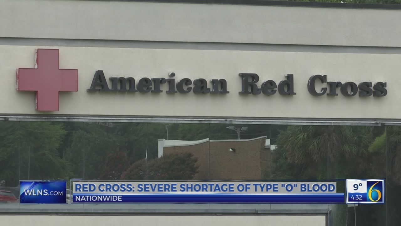6 News at 4:30: blood donations