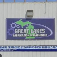 Business starts rebuilding process after tornado destruction