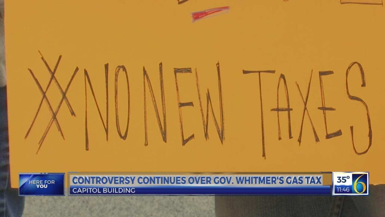 Gas tax protest