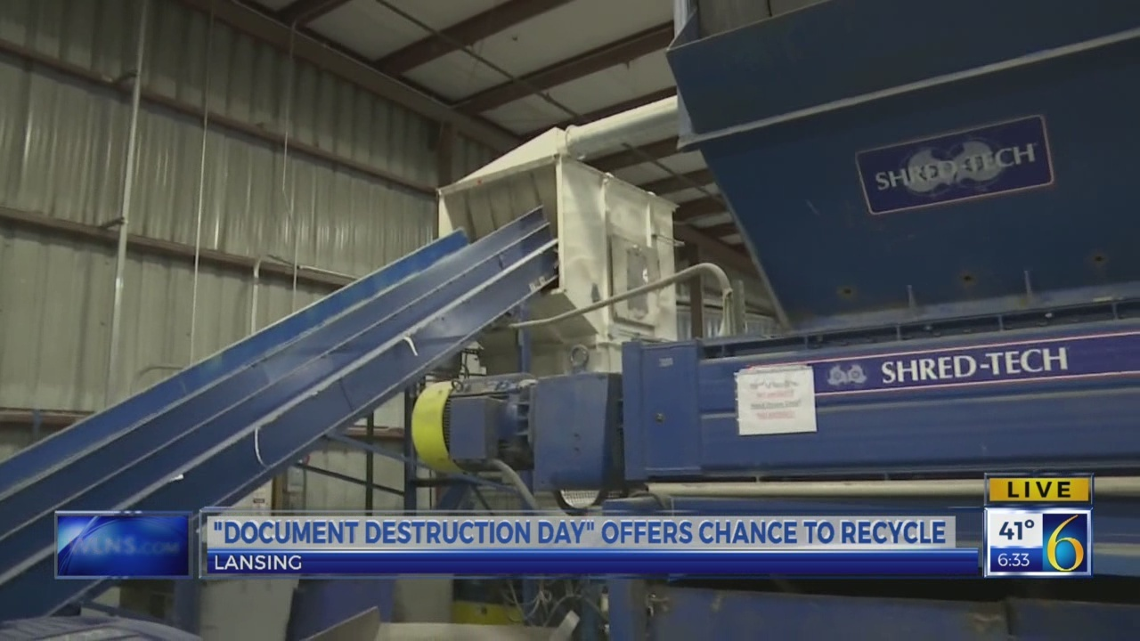 6 News This Morning: document destruction 2