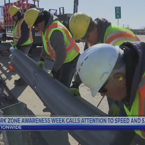 6 News This Morning: work zone awareness