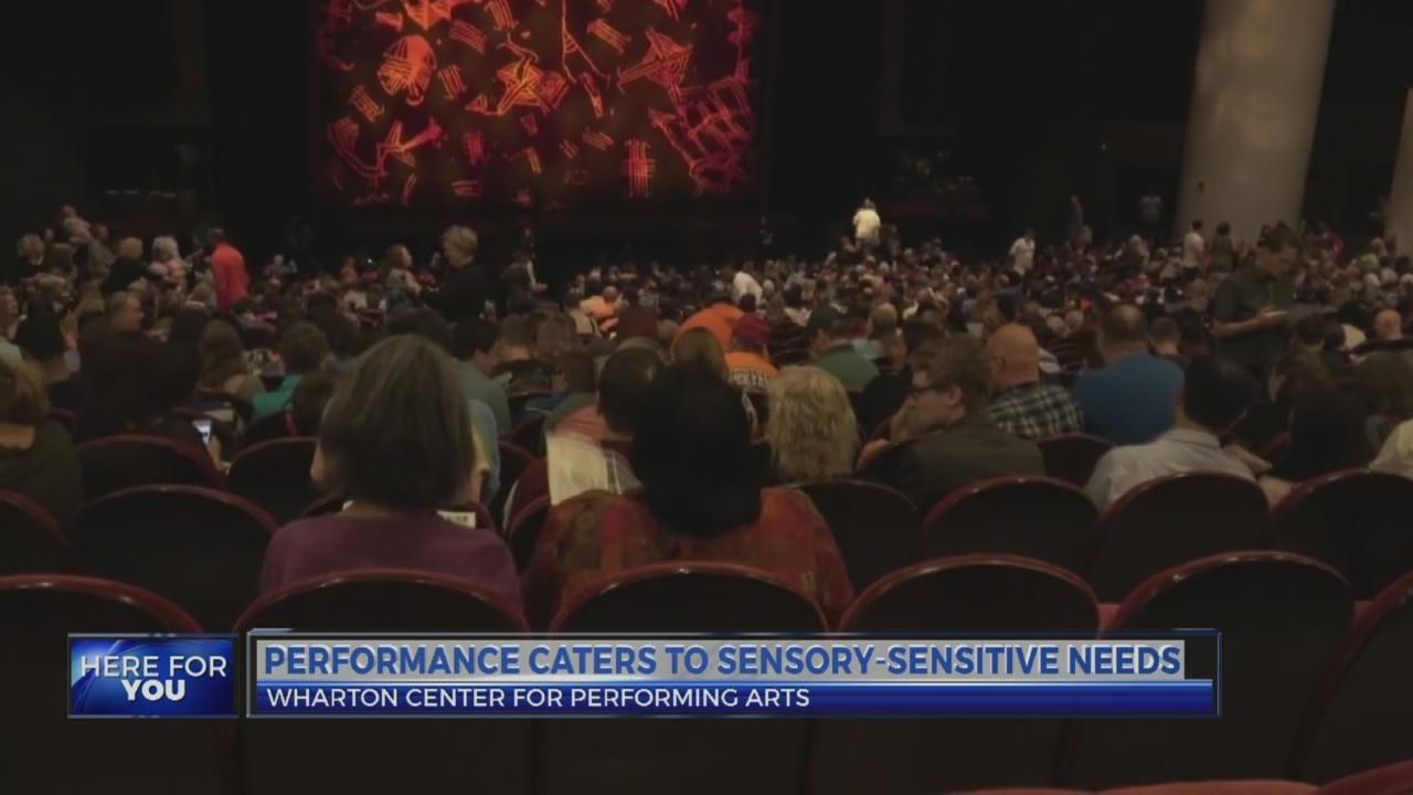 6 News at 4:30: sensory friendly wharton center