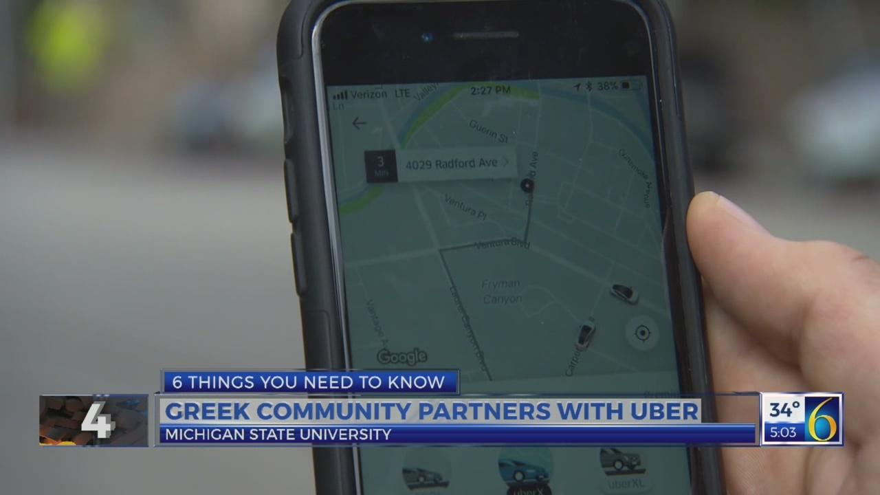 6 News at 5:00 a.m.: greek community partners with uber
