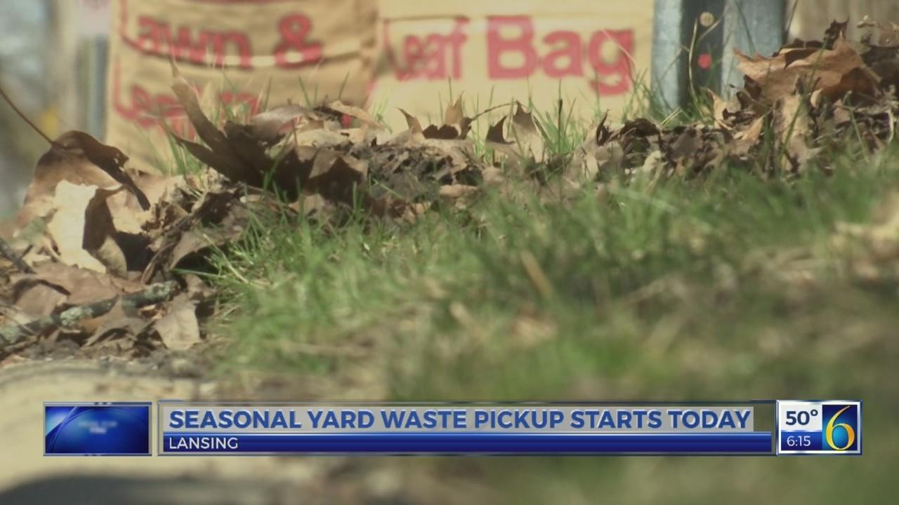 Lansing begins yard waste pickup service