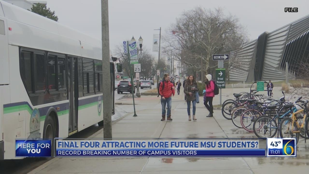 MSU basketball bringing in more students?