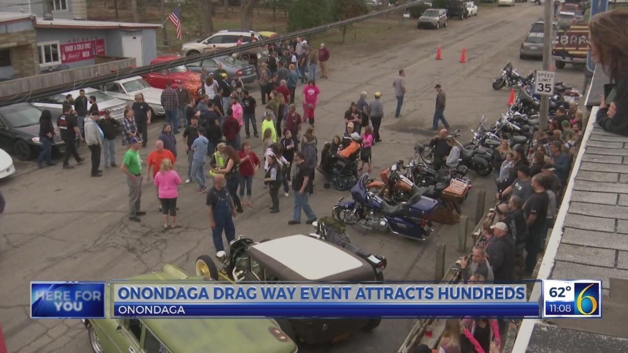 Onondaga drag way event