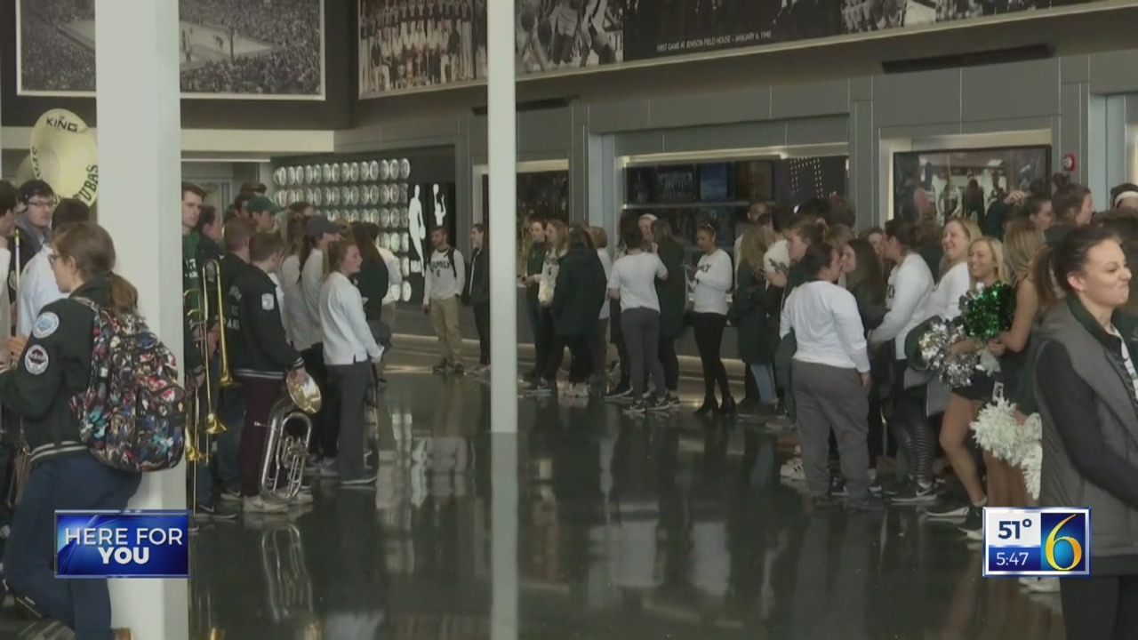 Spartans load up for Final Four