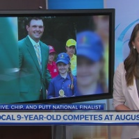 Young mid-Michigan golfer competes at Augusta