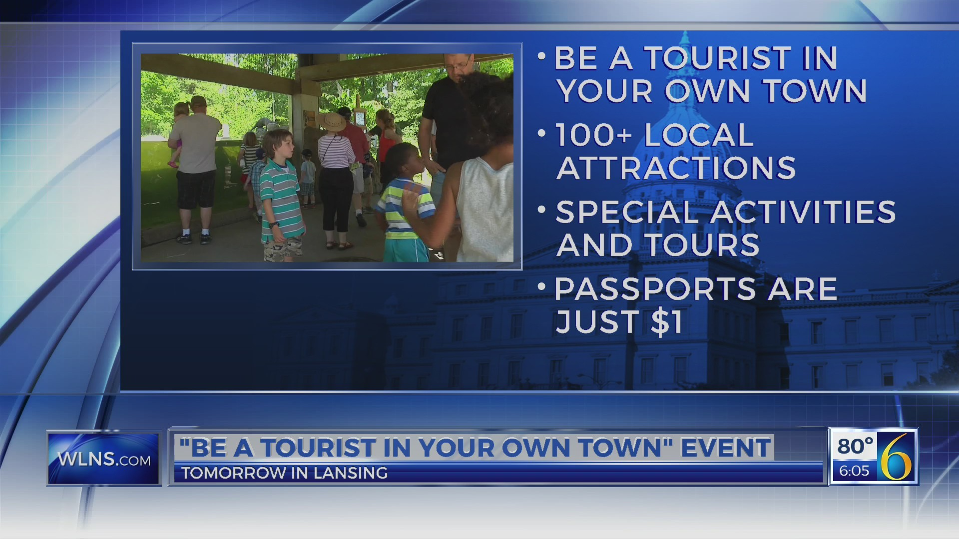 """""""Be a Tourist in Your Own Town"""" event"""