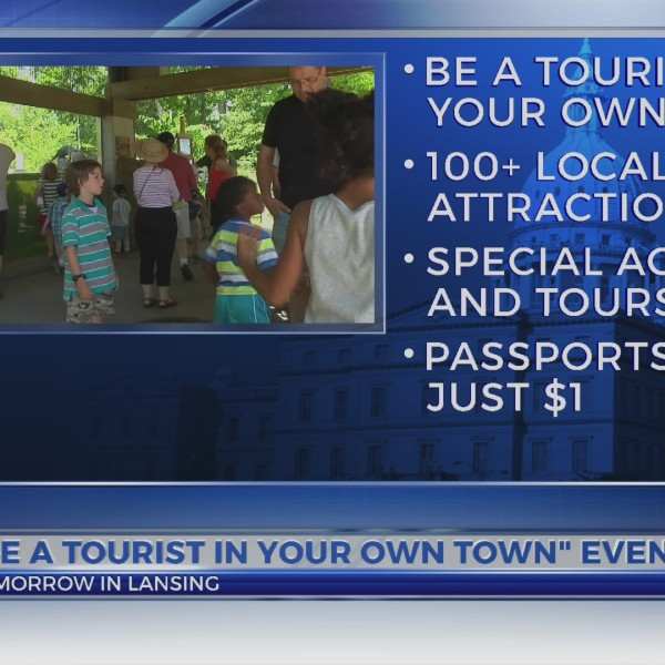 """Be a Tourist in Your Own Town"" event"