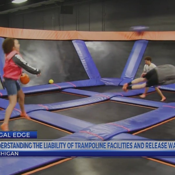LEGAL EDGE LIABILITY OF TRAMPOLINE FACILITIES