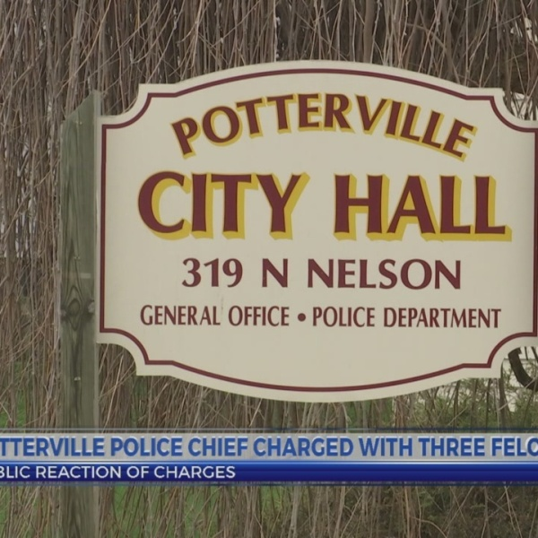 Potterville police department chief charged