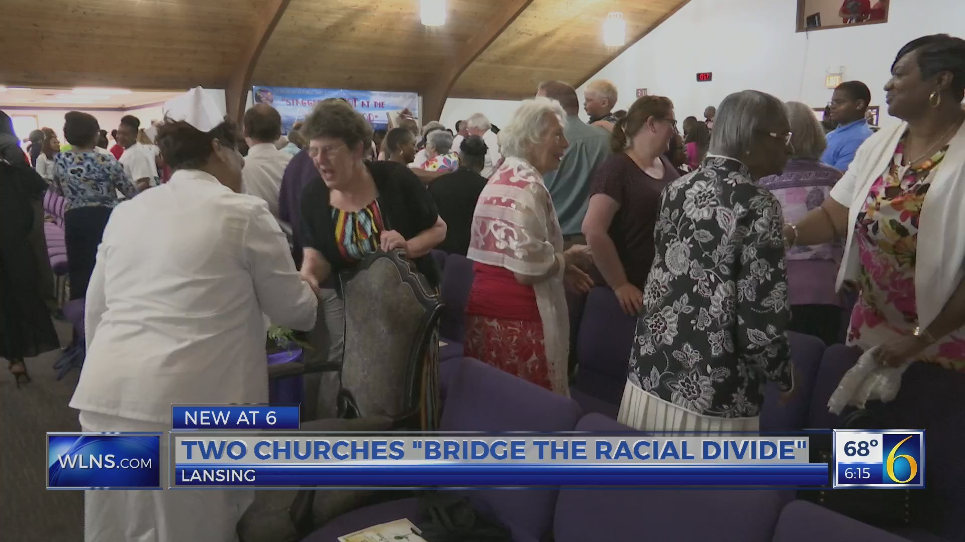Churches work to bridge racial divide