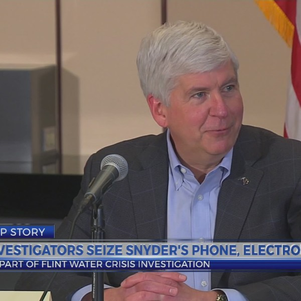 Investigators seize Snyder's phone and electronics