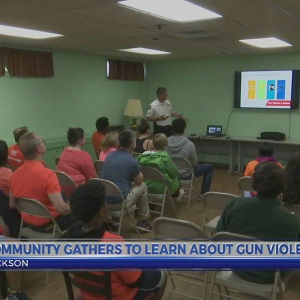 Jackson Gun Violence meeting