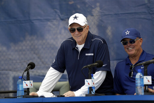 Jerry Jones, Stephen James