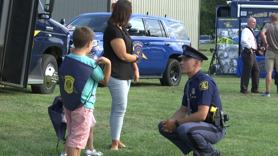 Dunk-a-Cop tank? We're there  | WLNS 6 News