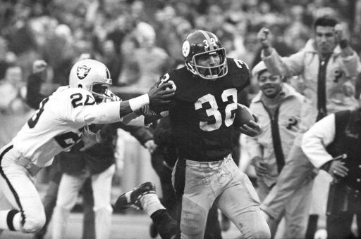 Franco Harris, Jimmy Warren
