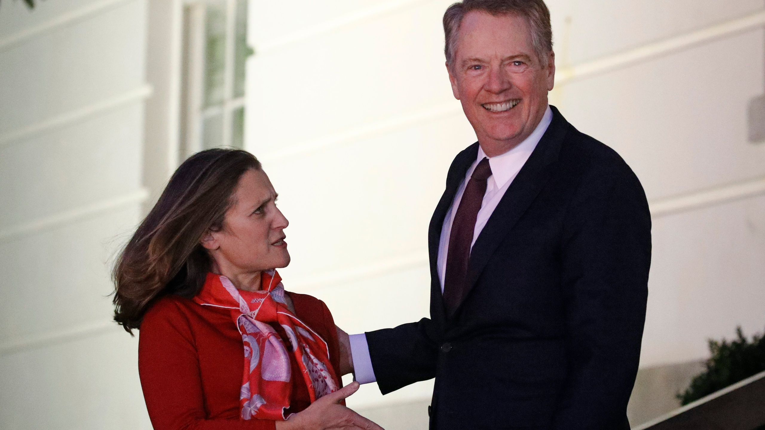 Chrystia Freeland, Robert Lighthizer