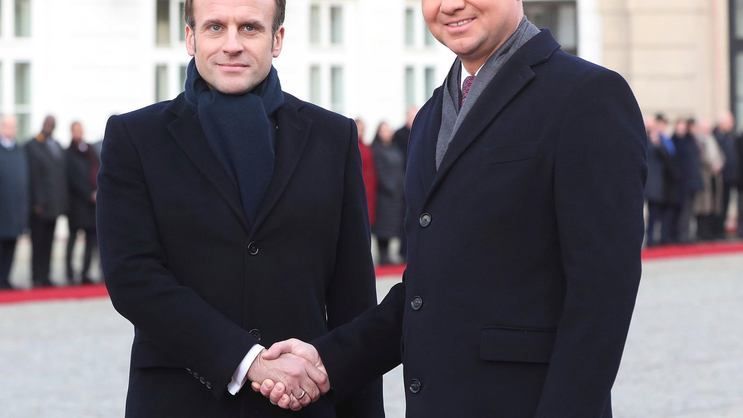 Emmanuel Macron, Andrzej Duda