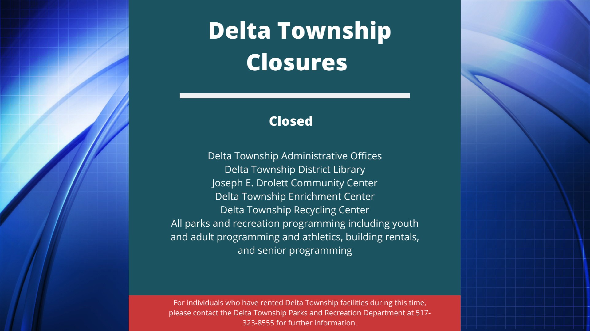 Delta Township Declares Local State Of Emergency Wlns 6 News