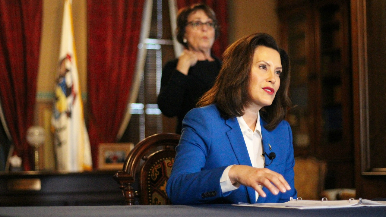 Skubick New Poll Shows Whitmer Approval Jumps During Covid 19 Pandemic Wlns 6 News