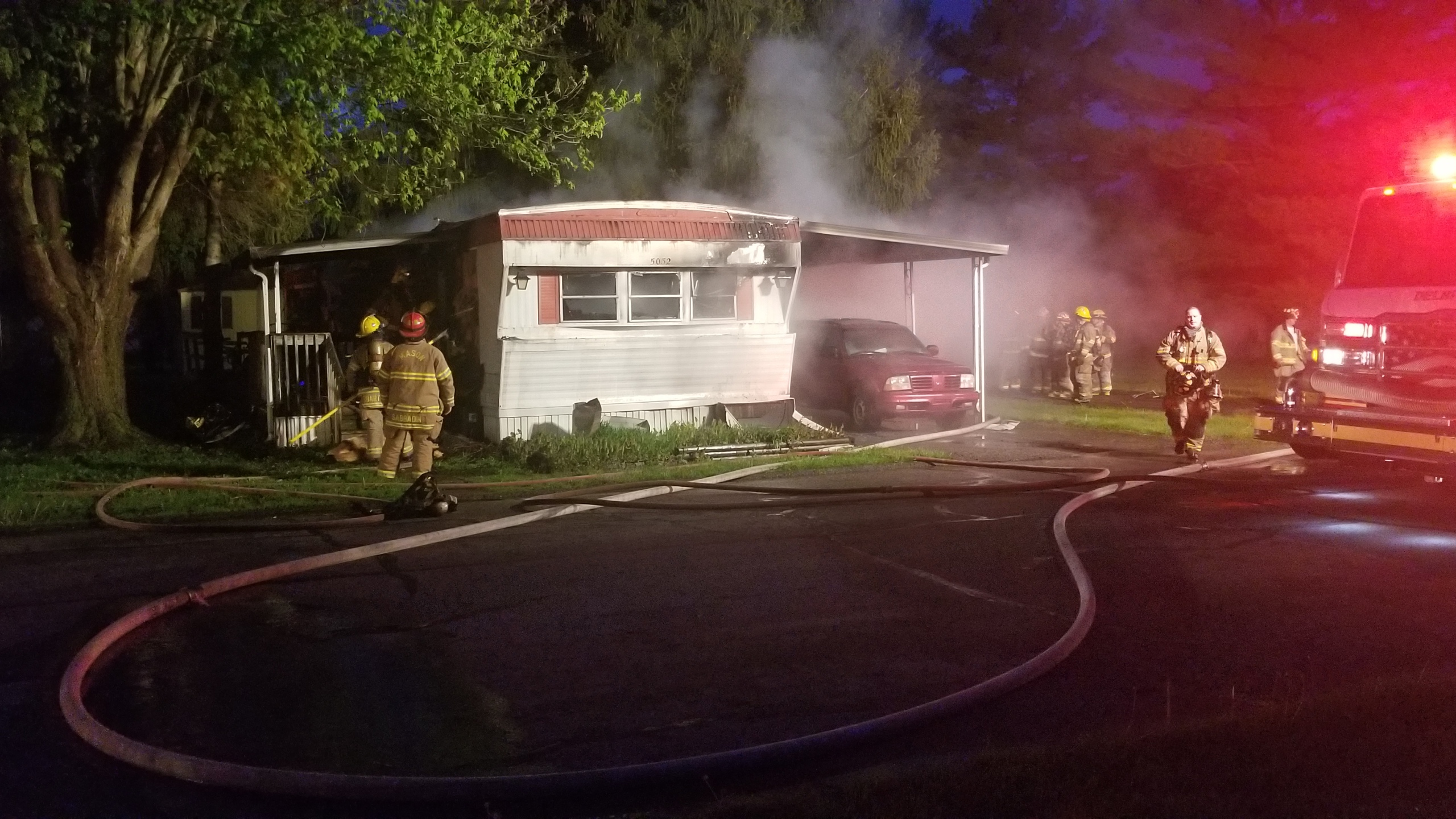 Fire At A Mobile Home Park In Holt Wlns 6 News