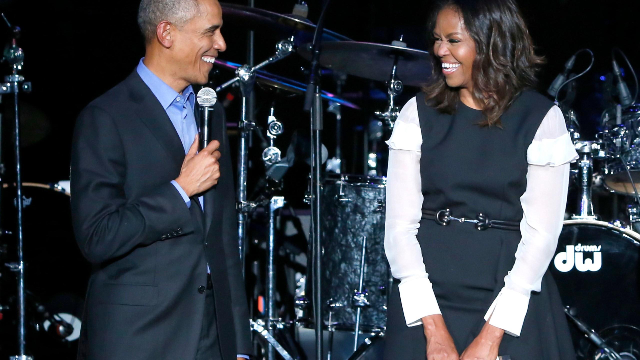 Barack Obama, Michelle Obama, Chance The Rapper