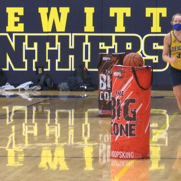 DeWitt girls hoops