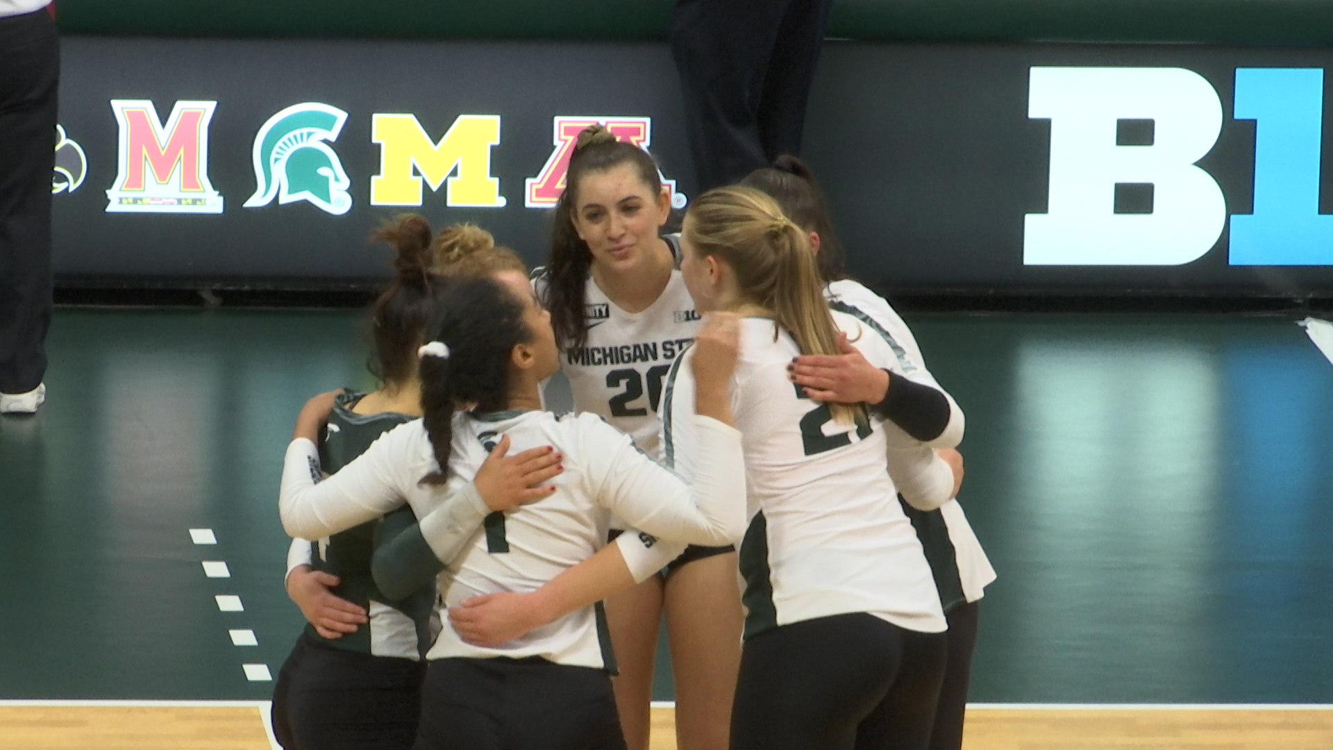 4-2-21 MSU VOLLEYBALL FALLS TO RUTGERS