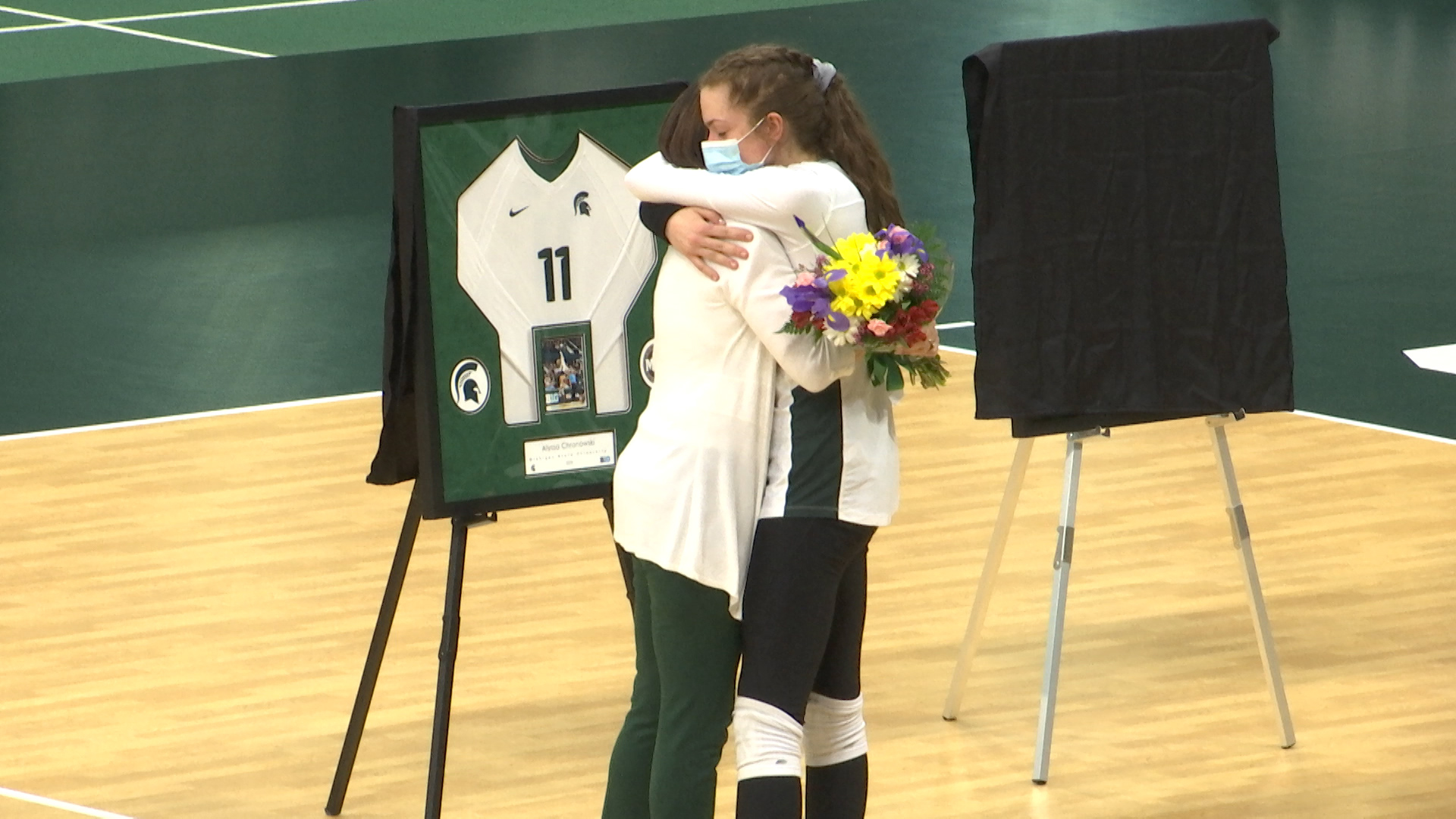4-3-21 MSU VOLLEYBALL SENIOR DAY